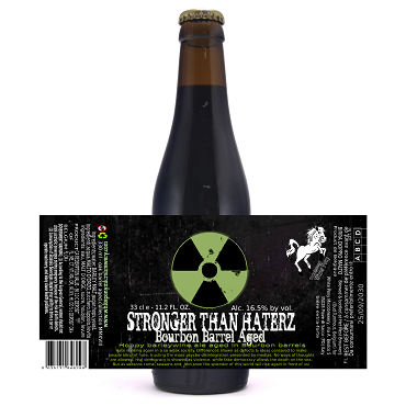 Stronger Than Haterz Bourbon BA