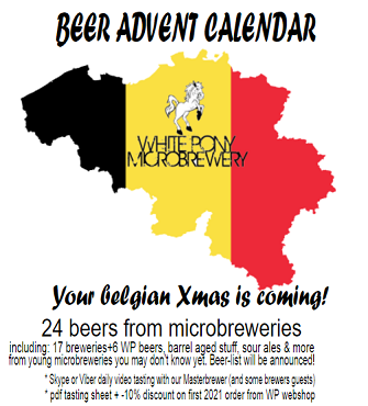 BEER ADVENT CALENDAR box (ITALIA / EU) 2021